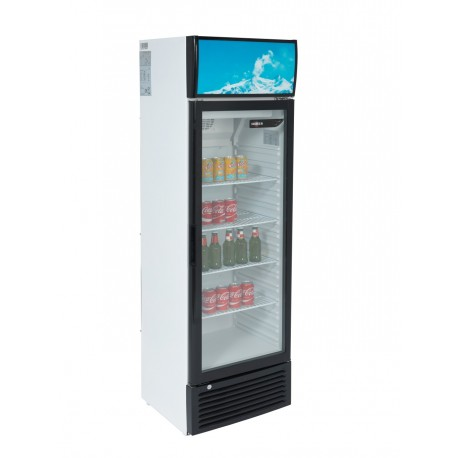 ARMOIRE REFRIGEREE SNACKING 244 L SILBER