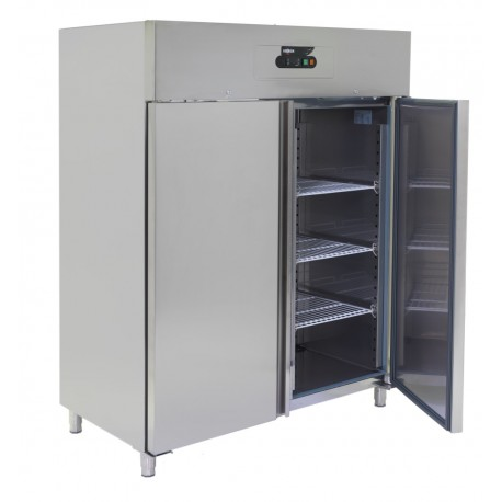 ARMOIRE FROIDE POSITIVE INOX 1400 L SILBER